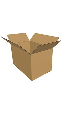 Standard brun Fefco-0200 kasse