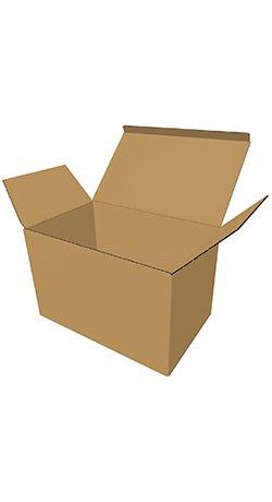 Standard brun Fefco-0210 kasse