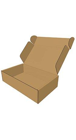 Standard brun Fefco-0427 kasse