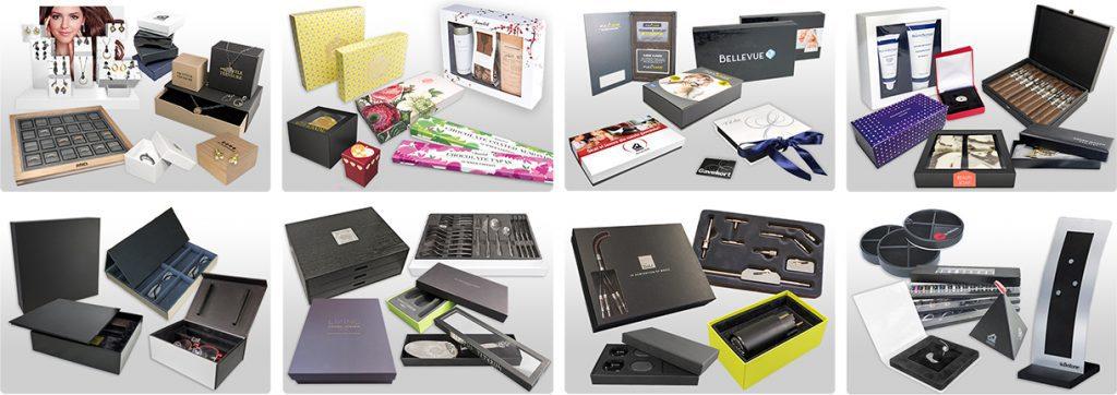 Special emballager som smykkeæsker, chokoladeæsker, gaveæsker m.m.