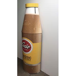 Kæmpe flaske med Cocio