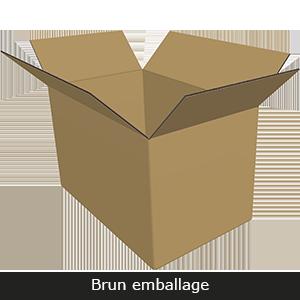 Standard brun emballage Fefco
