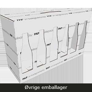 Øvrige emballager