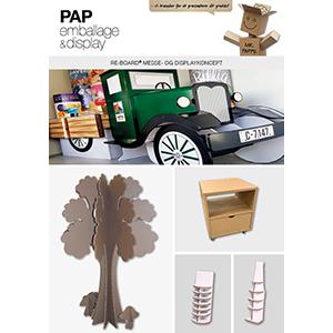 Reboard fra PAP emballage og display